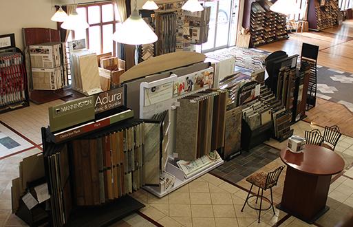 Phillips' Floors - Large, Beautiful Showrooms
