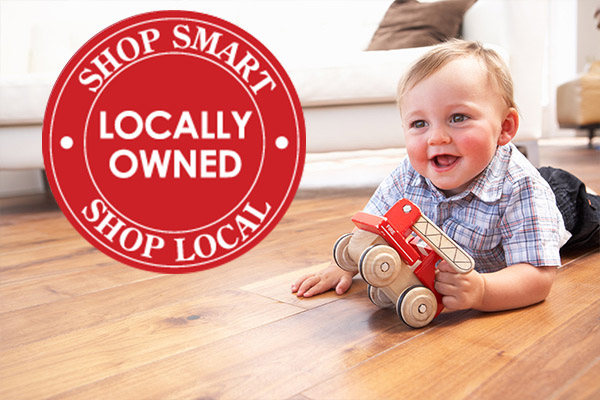 Make a difference - shop local!